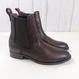 NEW FRYE Melissa Chelsea Ankle Boots